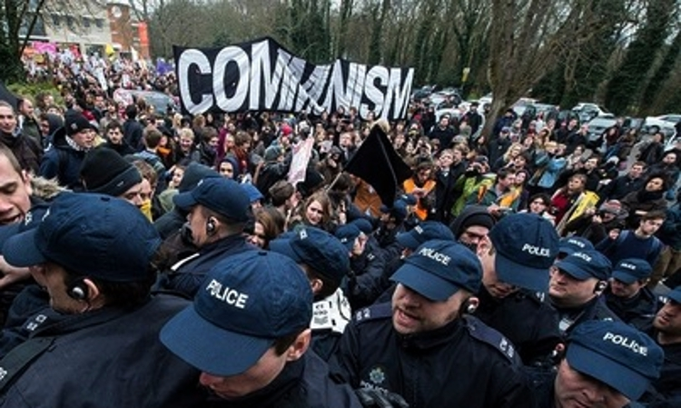 From the University of Sussex occupation